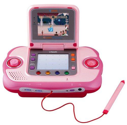 Vtech 80-040554 - V.Smile Cyber Pocket pink inkl. Lernspiel Cinderella