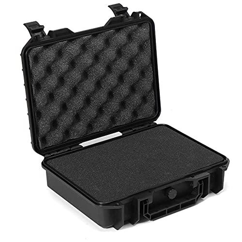 PPLAS Kit per Utensili per Custodia Rigida Impermeabile con Scatola di stoccaggio con Scatola di archiviazione della Spugna Protezione di Sicurezza Organizer Toolbox Hardware (Size : 420x360x120mm)