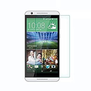 VIMVIP Tempered Glass Screen Protector for HTC Desire 820 with 9h Hardness/perfect Anti-scratch/shatterproof/fingerprint & Water & Oil Resistant (Htc Desire 820)
