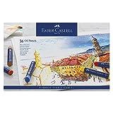Faber-Castell 127036 Pastelli ad Olio, 36 Pezzi