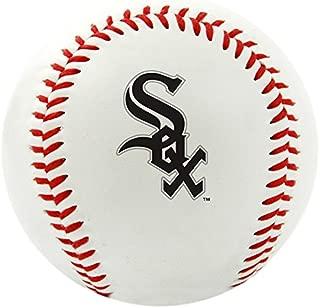 RAWLINGS 1240029121 MLB Chicago White Sox Team Logo Baseball, Official, White