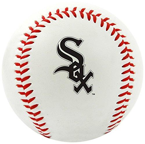 Jarden Sports Licensing Palla da Baseball con Logo di Squadra MLB, White