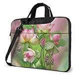 Spirit of The Lotus Unisex Laptop Bag Messenger Bolsa de Hombro para computadora Maletín Funda de Transporte