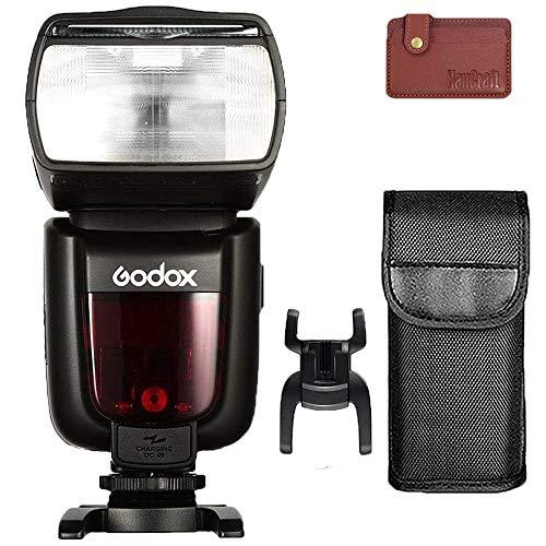 Godox TT685C TTL Flash GN60, transmisión inalámbrica integrada 2.4 G, Speedlite de alta velocidad 1/8000s, tiempo de reciclaje de 0,1 a 2 s