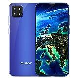 """CUBOT X20 Pro Smartphone ohne Vertrag, 6GB RAM+128GB Handy, 6.3""""FHD Display, 4000mAh Akku, Dual SIM, 256 GB erweiterbar, 4G Global Band, Android 9.0 Pie, Face-ID, Blau"""