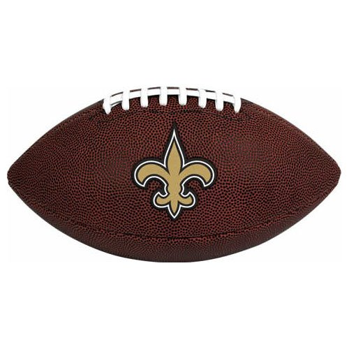 NFL Game Time Full Regulation-Size Football, New Orleans Saints