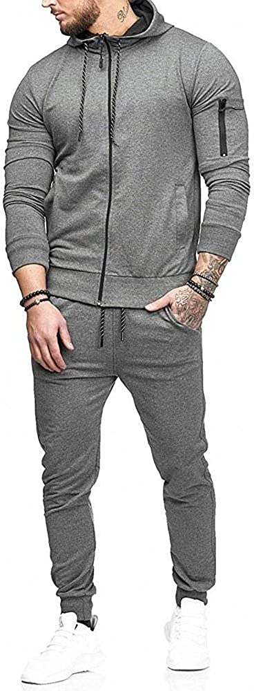 Aayomet Men's Tracksuit Camouflage Joggers Hoodie Sweatshirt Pants Set Two Piece Sweatsuits Outfits Sports Suit Activewear