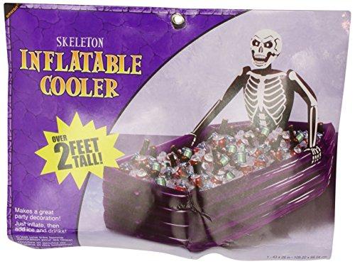 Amscan International 391226 Gonflable Cooler Squelette
