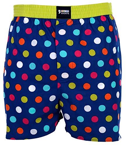 Happy Shorts Webboxer Heren Boxer Motief Boxershorts kleurkeuze