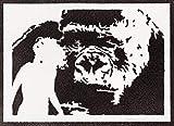 King Kong Poster Plakat Handmade Graffiti Street Art -