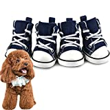 ZUOLUO Zapatos para Perros Calcetines Perro Zapatos Antideslizantes para Perro Perro Calcetines Perro Botas de Lluvia Pata de Perro Protector #3