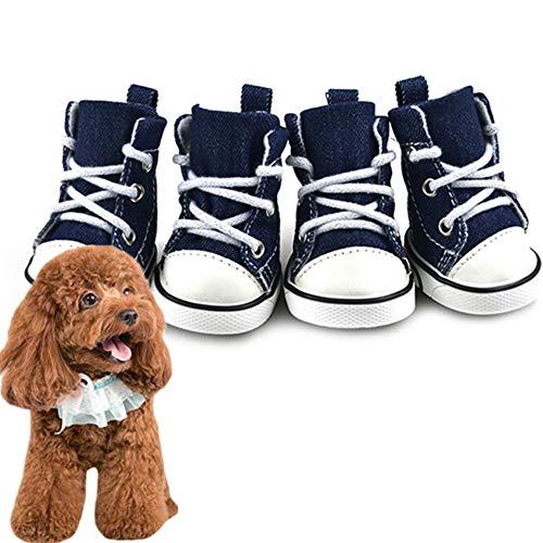 Shulishishop Zapatos para Perros Calcetines Perro Perro Calcetines Botas de Perro para Las Patas dañadas Impermeables Perro Botas de Lluvia #5
