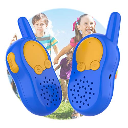 Walkie Talkies for Kids, USB Rechargeable Kids Walkie Talkies, Birthday Gifts for Boys Age 3 4 5 6, Boy Toys 3 4 5 6 Year Old, Outdoor Adventure Explorer Toys Two Way Radios Toddler Walky Talky
