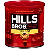 Hills Bros Coffee, High Yield Medium Roast Ground, 30.5 Ounce (Pack of 6)