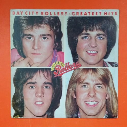 BAY CITY ROLLERS Greatest Hits 1977 Arista AB 4158 LP Vinyl VG Cover VG+