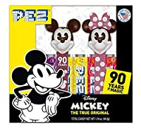 PEZ Candy Twin Pack Mickey 90th, 5.3 Ounce ミッキー90周年 ツインパック