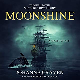 Moonshine audiobook cover art