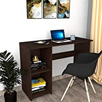 DFC Zeta Wooden Matte Finish Study Table for Home and Office (Dark Wenge)