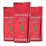 3 x Mocambo Kaffee Espresso - Suprema, 1000g Bohnen