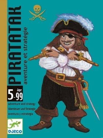 Djeco / Piratatak Strategy Game by Djeco TOY (English Manual)