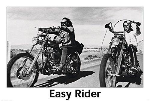 Close Up Póster Easy Rider (101,5cm x 68,5cm) + 1 póster Sorpresa de Regalo