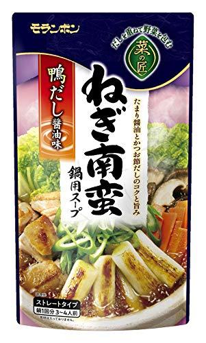モランボン 菜の匠 ねぎ南蛮鍋用スープ 750g ×10袋