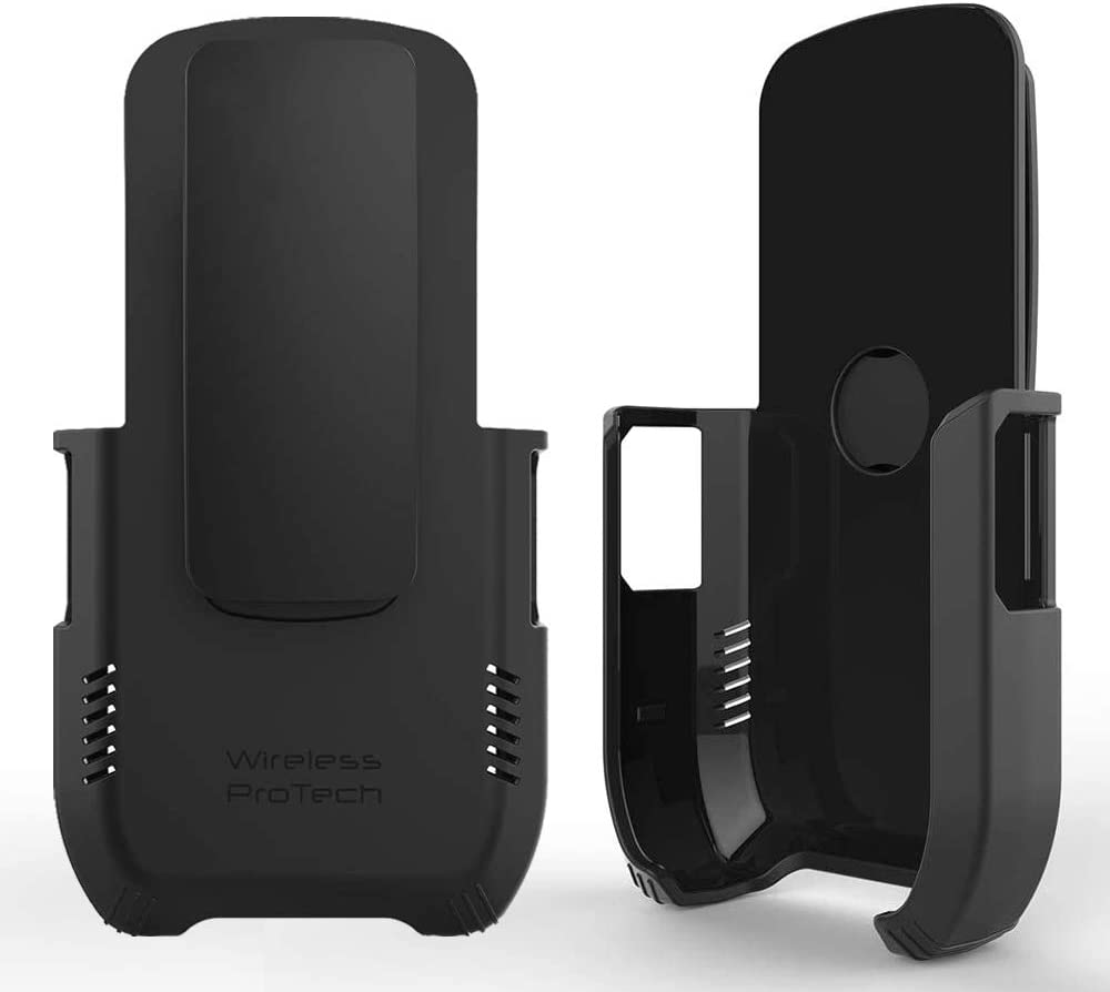 Wireless ProTech Case with Clip Compatible with Sonim XP5S Phone Model XP5800. Secure fit, Heavy Duty Swivel Belt Clip Holster