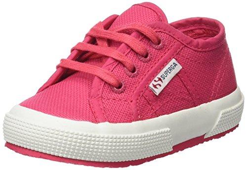 Superga 2750-Jcot Classic, Sneaker Unisex - Bambini, Rosa (Red Azalea), 28