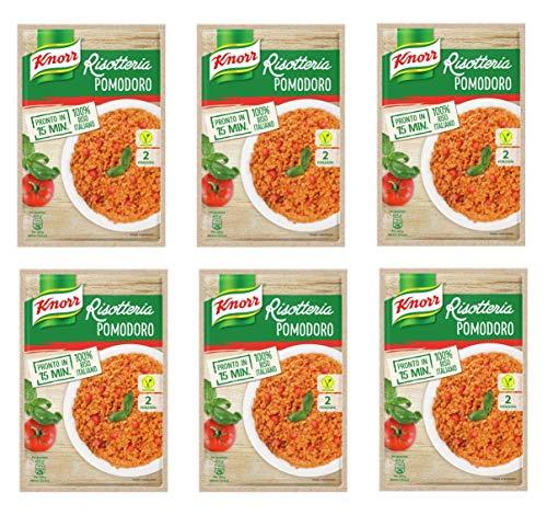 6x Knorr Risotto pomodoro Reis Tomate 175g 100% italienisch Fertiggerichte