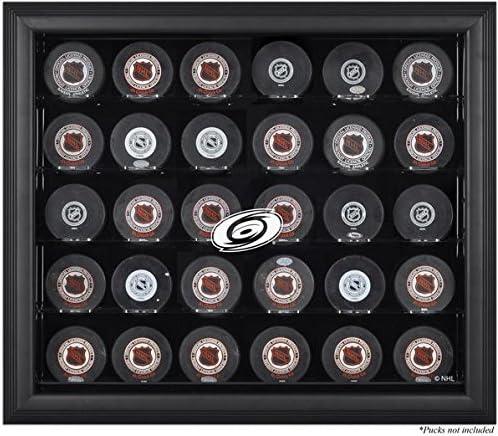 Sports Memorabilia Carolina New popularity Hurricanes Cas New product!! Black Display 30-Puck
