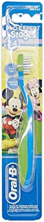 Oral B Stages 2 Mickey Mouse Soft Toothbrush (2-4 Years), Assorted Colors
