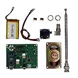 Didad SI4732 Receptor de Radio de Todas Las Bandas FM Am (MW&SW) SSB (LSB y USB) Altavoz Bandas de Radioaficionado Preconfiguradas con Antena de BateríA