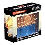 WizKids Dungeons & Dragons Spell Effects: Wall of Fire and Wall of Ice (WK73107)
