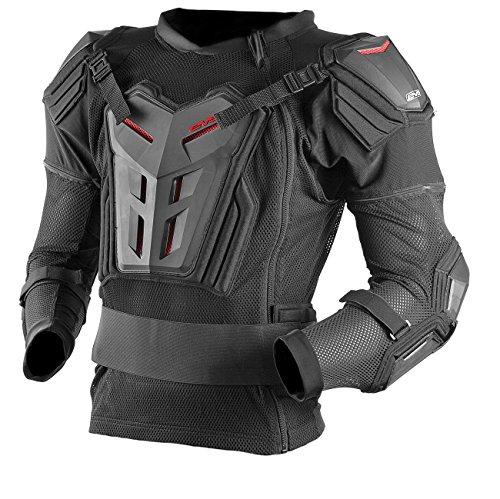 EVS Sports Comp Suit CE, Adult, XL, Black, Taille X-Large