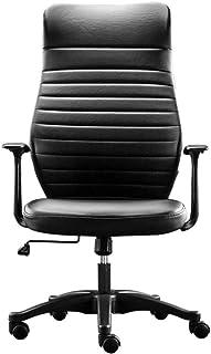 WNNY Office Chair Silla De Oficina Silla Ergonómica De Malla Giratoria Silla De Escritorio Acolchada con Respaldo Alto, Silla De Oficina con Asiento Alto con Respaldo Alto, Negro