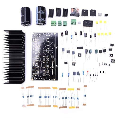 Audioverstärkerplatine,Zweikanal 68Wx2 DIY Kit LM3886 Stereo Verstärkerplatine OP07 DC Servo 5534 Unabhängiger Operationsverstärker 4~16Ω,AC12~28V x 2 Verstärker-Brett DIY Installationssatz