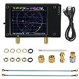 Kacsoo Analizzatore di rete vettoriale 50KHz -3GHz Onde corte VHF UHF analizzatore di antenna con touch screen da 2,8 pollici e guscio in metallo per stazionarie tensione/fase/ritardo