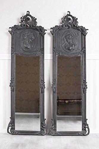 Unbekannt Zwei Spiegel Paar 2 Rokoko Wandspiegel Barock Ganzkörperspiegel Flurspiegel Palazzo Exklusiv