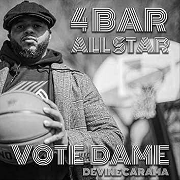 4Bar All Star: Vote Dame