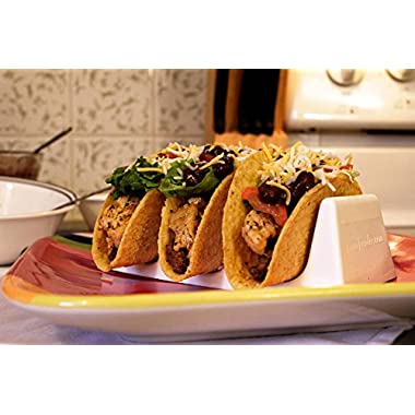 Taco Holders~~ White~~Package of 2