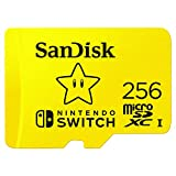 SanDisk 256GB microSDXC-Card, Licensed for Nintendo-Switch - SDSQXAO-256G-GNCZN