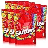 SKITTLES - Bonbons enrobés goût Fruits - Pochon de 174g (Lot de 7)