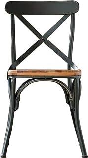 Amazon Fr Chaise En Bois Et Fer Forge