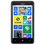 Nokia Lumia 625 - Smartphone libre (pantalla de 4,7', cámara 5 Mp, 8GB, 1.2 GHz, 512MB de RAM, S.O. Windows), negro
