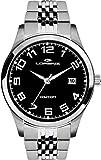 Lorenz Reloj Analógico para Hombre de Cuarzo con Correa en Acero Inoxidable 027009CC