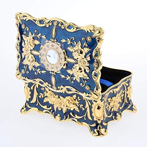 SM SunniMix Vintage Jewelry Boxes de 2 Couches