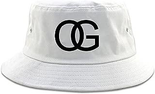 Kings Of NY OG Original Gangsta Gangster Style Green Bucket Hat