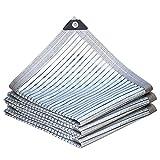 HWLL Malla Sombreo 75% Tela de Paño de Sombra de Aluminet, Red Reflectante de la Sombradel Aluminet, Vela de Aislamiento Térmico para Césped/Cercas de Privacidad/Invernadero/Terraza/Jardín