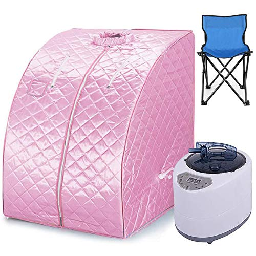 ZYQDRZ Home Dampfsauna, Sauna-Zimmer-Badzelt, Kann Das Persönliche Gewicht Reduzieren, Einschließlich Fernbedienung, Whirlpool-Maschine