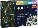OFERTAS ONLINE OUTLET Nuevo Increíble Ultra Brillante LED Pastel Chaser Luces 400pk - Multi Perfecto para la decoración de Navidad este año